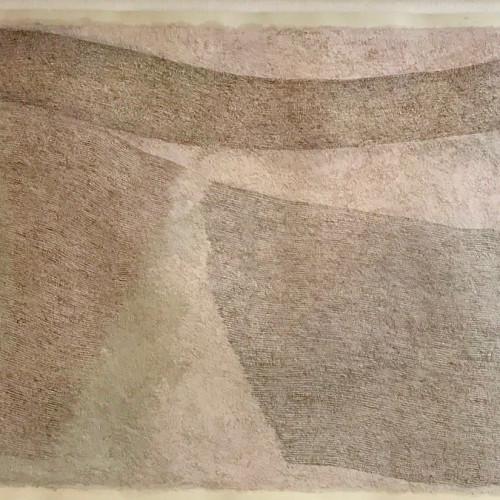Pamela Burns - Chalk Field 2008 (Hungerford Gallery)