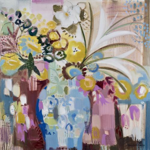 Annabel Fairfax - Spray of Wild Flowers and Lillies