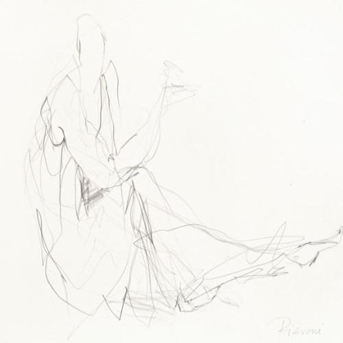Bella Pieroni - Drawing of a Seated Woman