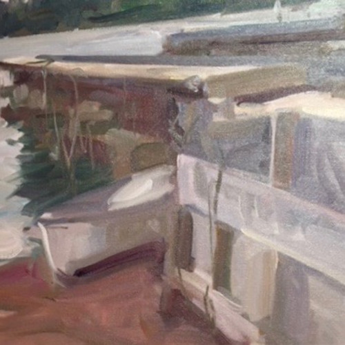 Antony Bream - The Little Boat, North Haven, Maine