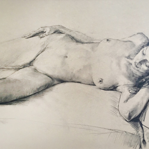 Valeriy Gridnev - Nude (Hungerford Gallery)