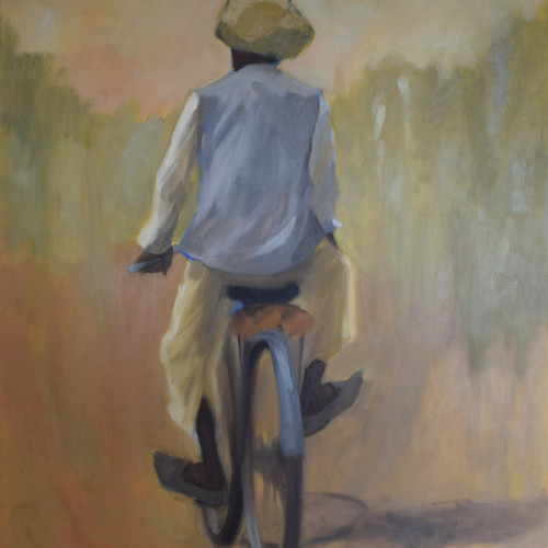Clare Granger - Blue Bicycle