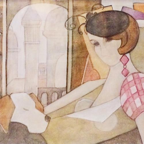 Judy Hulbert - Ascot (Hungerford Gallery)