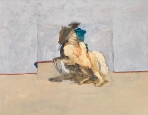 Antoine de La Boulaye, Horseman I (Hungerford Gallery)
