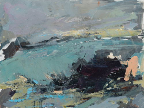 Paul Wadsworth, Cold Sea Green (London Gallery)