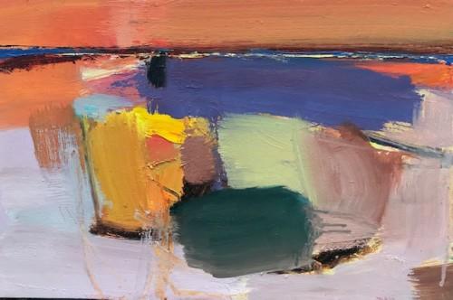 Dafila Scott, Orange Sky (London Gallery)