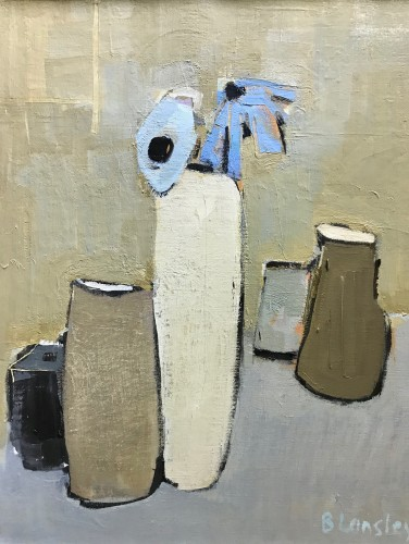 Bridget Lansley, Stone Vases (Hungerford Gallery)