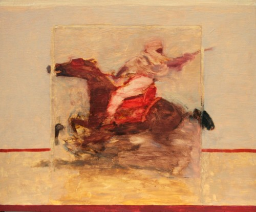 Antoine de La Boulaye, Orientalist Horseman VII (London Gallery)