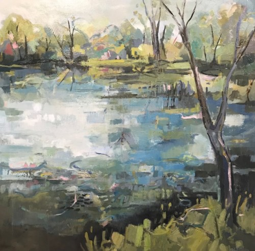 Kate Rhodes, Summer Reflections (Hungerford Gallery)