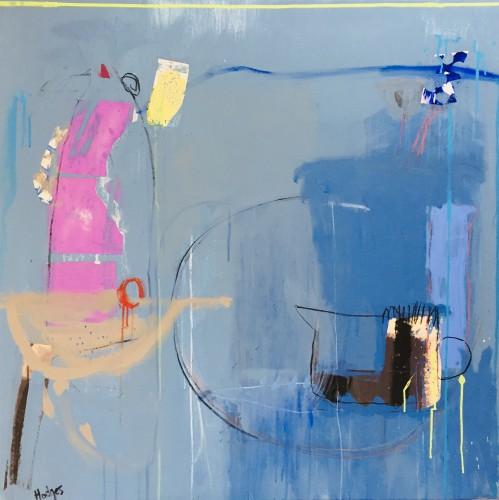 Felice Hodges, Blue for Nettie (London Gallery)