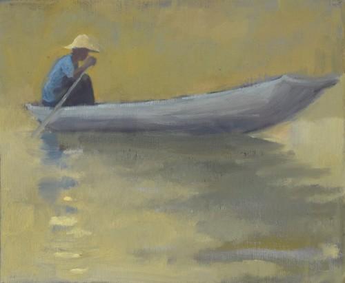 Clare Granger, Boy in Blue (London Gallery)