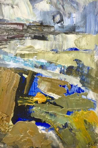 Emma Haggas, Cornish Seascape II (Hungerford Gallery)