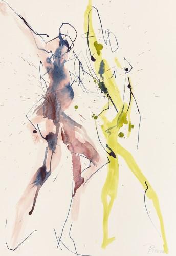 Bella Pieroni, Dancing at Dragobete (Framed) (London Gallery)