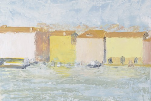Celia Montague, February Light on San Basilio (Hungerford Gallery)