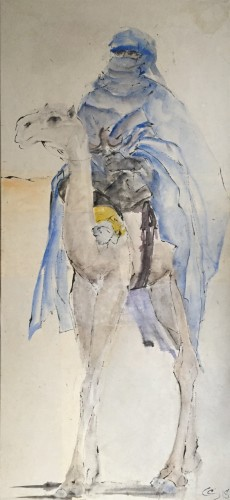 Christine Seifert, Blue Rider (Hungerford Gallery)