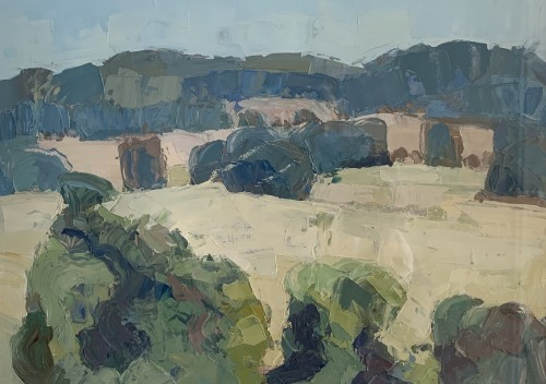 Minnie Shaw Stewart, View from Brightwalton (Hungerford Gallery)