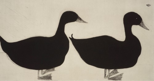 Kate Boxer, Ducks (Mounted)