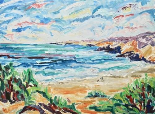 Fi Katzler, Plage St Croix (Hungerford Gallery)