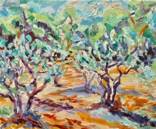 Fi Katzler, Olive Grove at L'Abeille