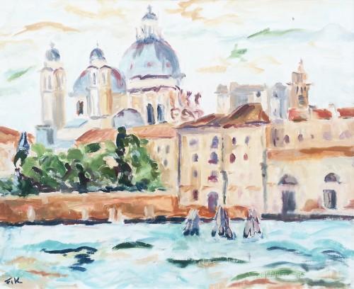 Fi Katzler, Salute from the Giudecca (London Gallery)