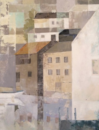 Angela Wilson, Abstract Town (Hungerford Gallery)