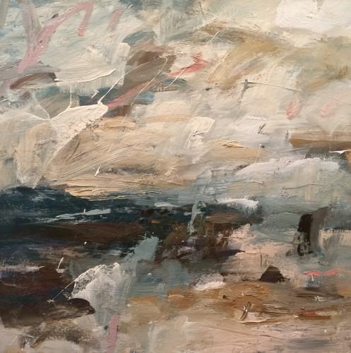 Louise Balaam, Golden Air and Salt Spray (Unframed) (London Gallery)