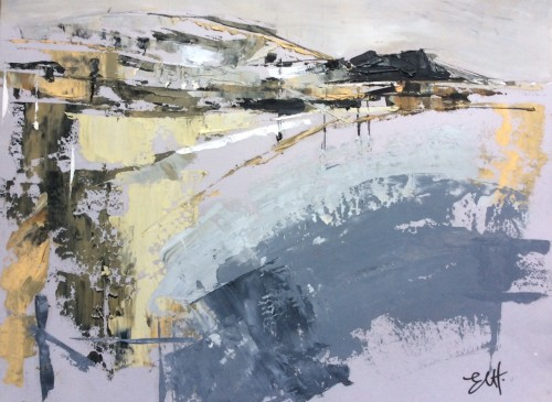 Emma Haggas, Path to Sidbuy Hill (Hungerford Gallery)