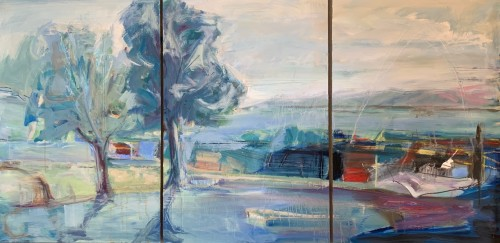 Annie Field, Canal du Midi (Hungerford Gallery)