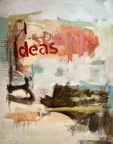 Kathy Montgomery, Ideas (London Gallery)