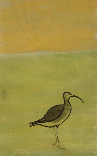 Kate Boxer, Curlew (Mounted)