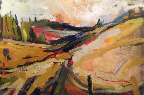 Emma Haggas, Path to the Woods (Hungerford Gallery)