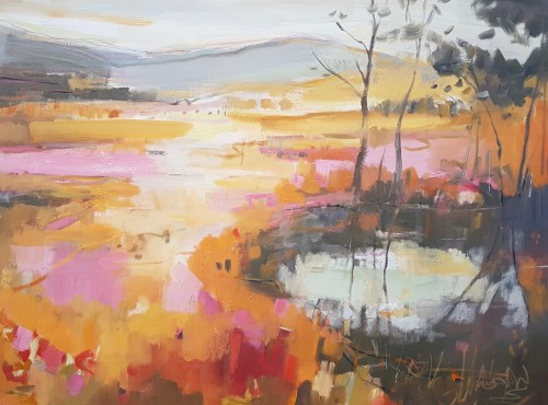 Kate Rhodes, On Golden Pond (Hungerford Gallery)