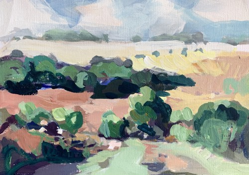 Minnie Shaw Stewart, Summer Landscape (London Gallery)