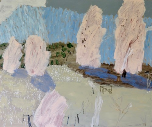 David Pearce, Lavender Hills (Hungerford Gallery)