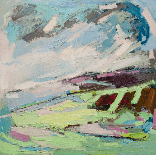 Paul Wadsworth, Moorland Late Summers Green (Hungerford Gallery)