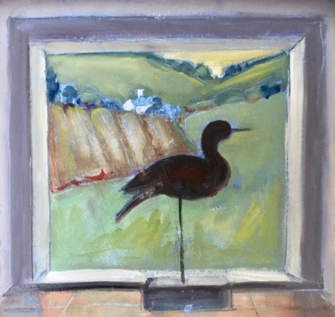 Annie Field, Curlew (Hungerford Gallery)