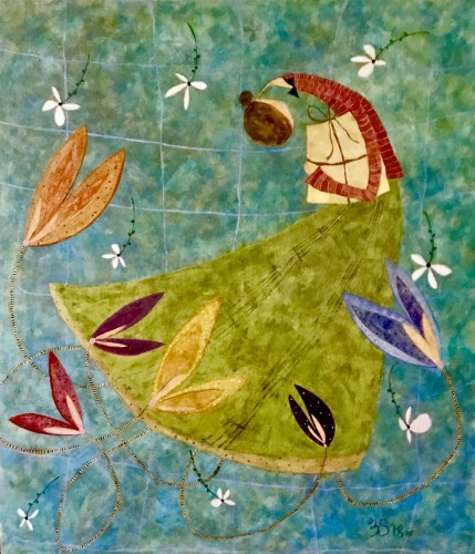 Ellen Skidmore, Mend (Hungerford Gallery)