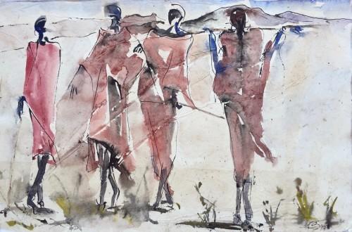 Christine Seifert, Maasai (Hungerford Gallery)