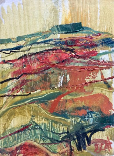 Emma Haggas, Autumn (Hungerford Gallery)