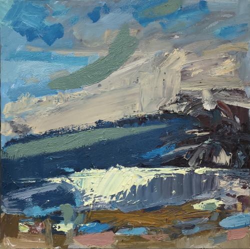Paul Wadsworth, Porthmeor Beach, St Ives (London Gallery)