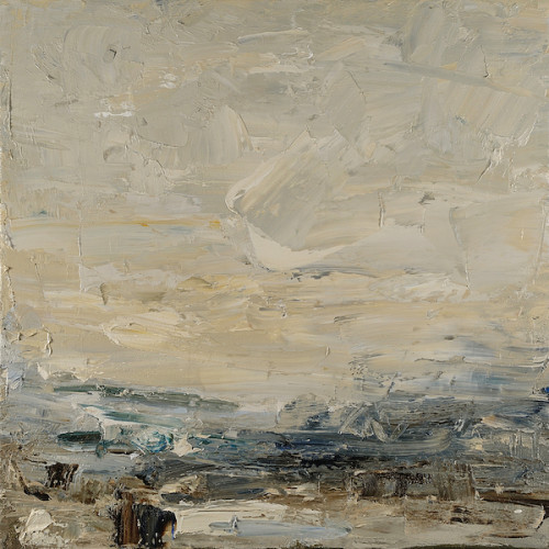 Louise Balaam, Creamy Sky, Arran (London Gallery)