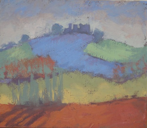 Hermione Owen, Chateau Magrin France (Hungerford Gallery)
