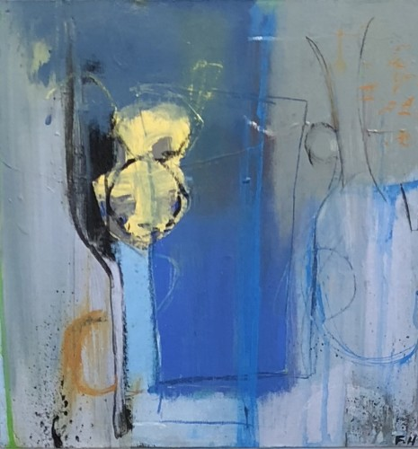 Felice Hodges, Blue Turk (London Gallery)