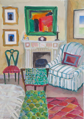 Lottie Cole, Interior with Howard Hodgkin (Hungerford Gallery)