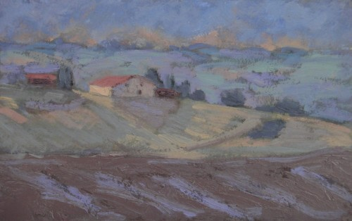 Hermione Owen, Hill Farm in France (Hungerford Gallery)