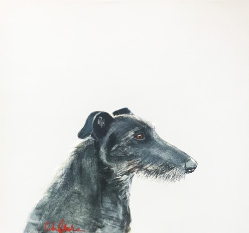 Robert James Clarke, Deerhound (Hungerford Gallery)