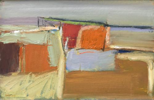 Dafila Scott, Orange Fields (London Gallery)