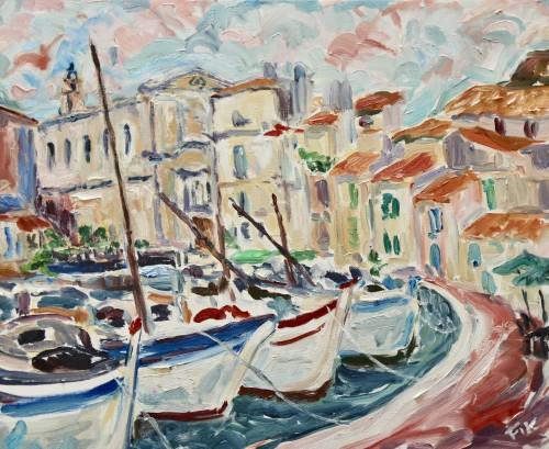 Fi Katzler, Martigues (Hungerford Gallery)