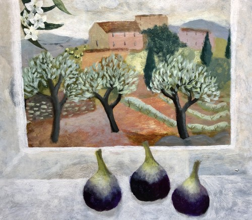 Sarah Bowman, Ripening Figs, Mallorca (Hungerford Gallery)