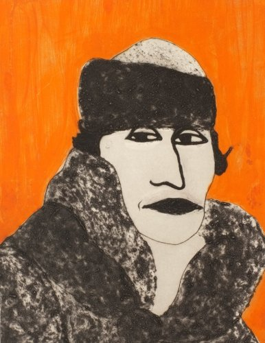 Kate Boxer, Alice B. Toklas (Mounted)
